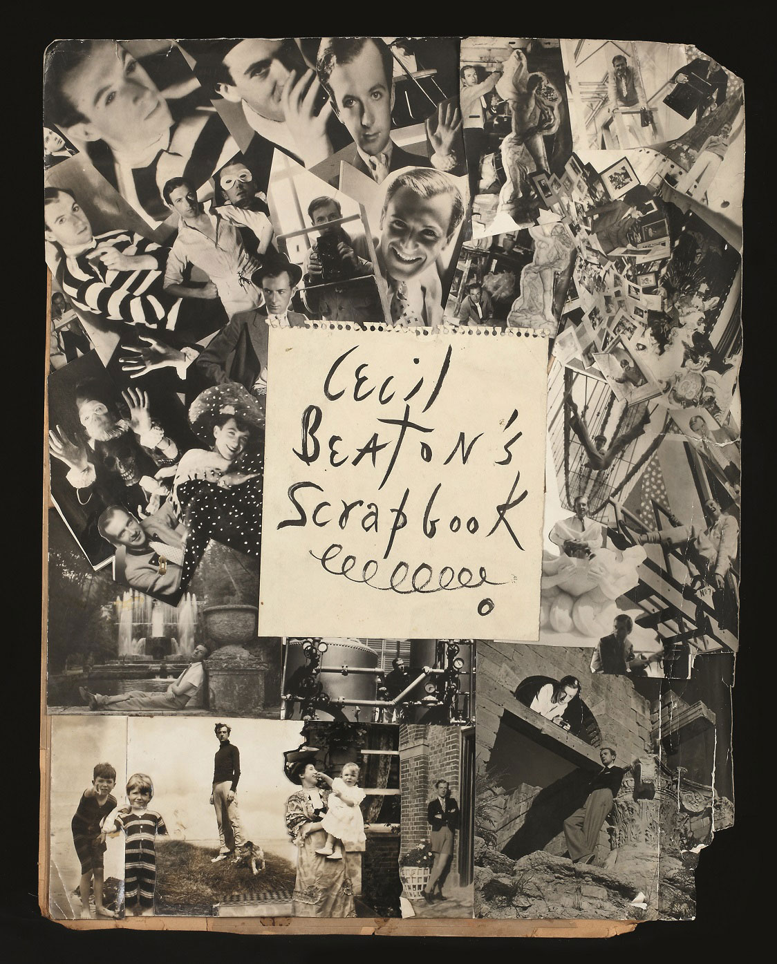 Cecil Beaton. 'Frontispiece montage for Cecil Beaton's Scrapbook, 1937, Ashcombe' 1937