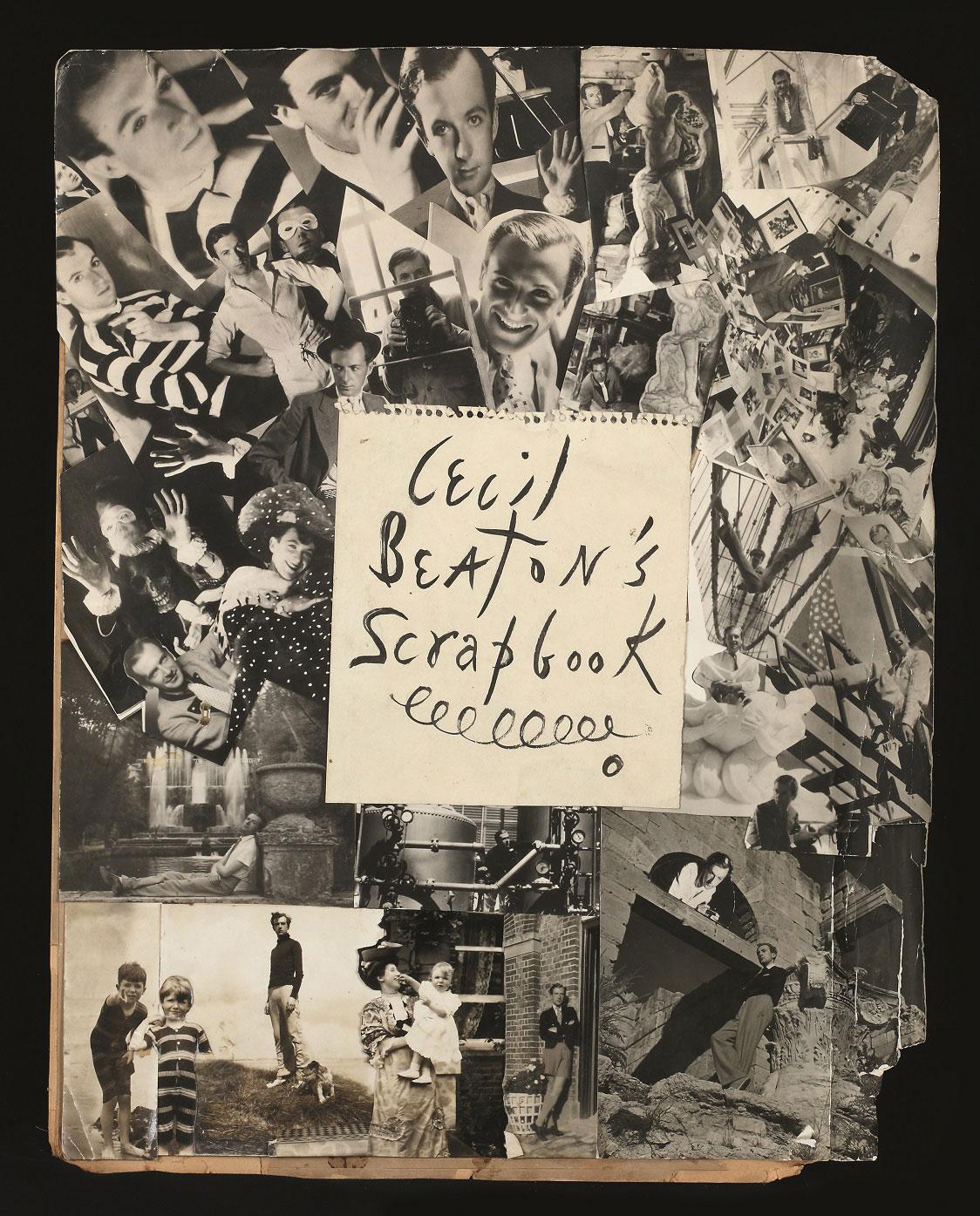 Cecil Beaton. 'Frontispiece montage for Cecil Beaton's Scrapbook, 1937, Ashcombe' 1937