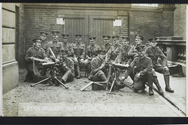 Christina Bloom. 'Captain Greer of the 1st Irish Guards and his machine gun team' Nd