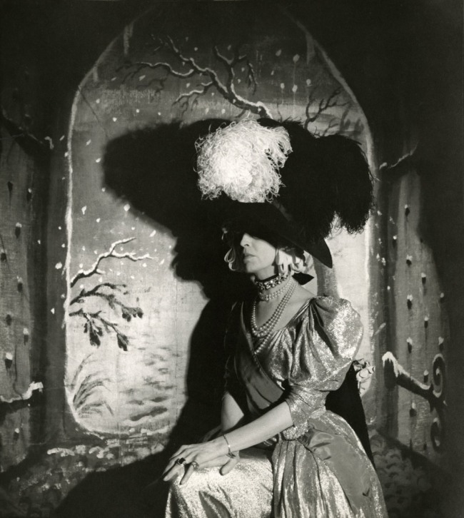 "Cecil Beaton. 'The Countess of Pembroke acting in Beaton's musical ""Heil Cinderella""' 1939"