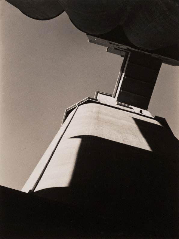 Max Dupain. 'Pyrmont silos' 1933, printed later