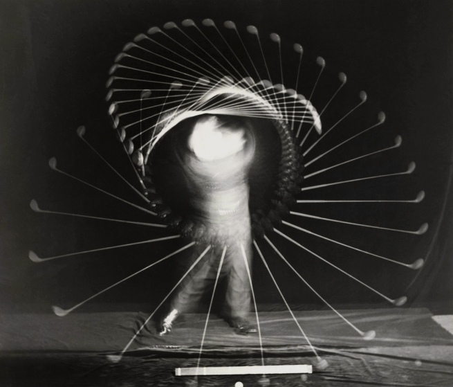 Harold Edgerton (American, 1903-1990) 'Bobby Jones with an Iron' 1938