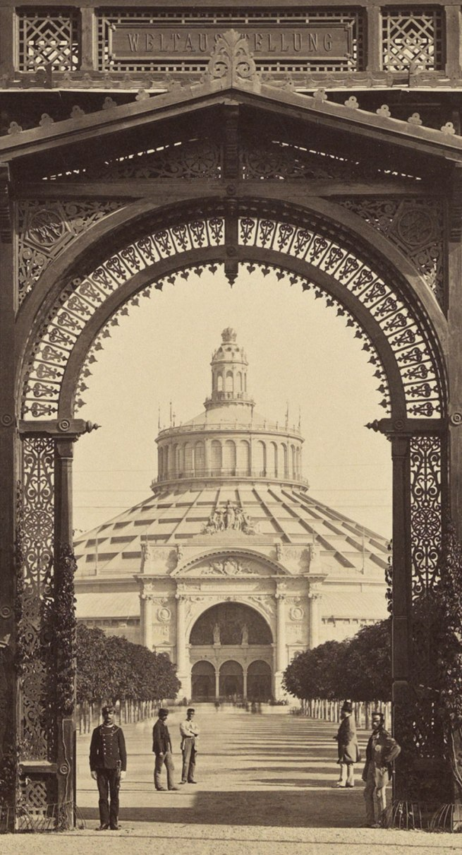 Anonymous 'Main entrance to the World Exhibition' (detail) 1873