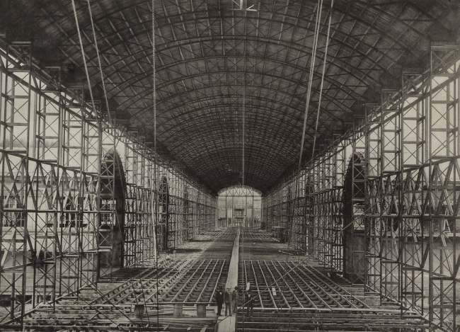 Anonymous. 'The Palace of Industry under construction' 1872