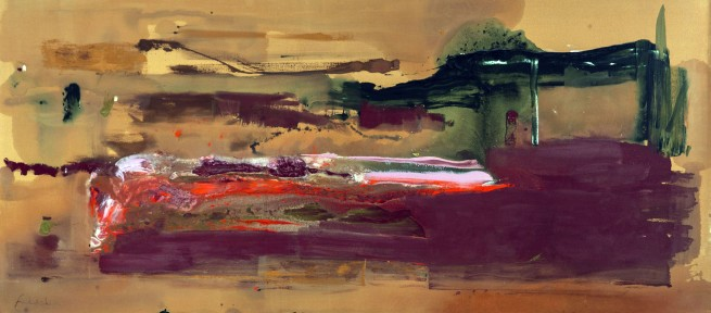 Helen Frankenthaler. 'February's Turn' 1979