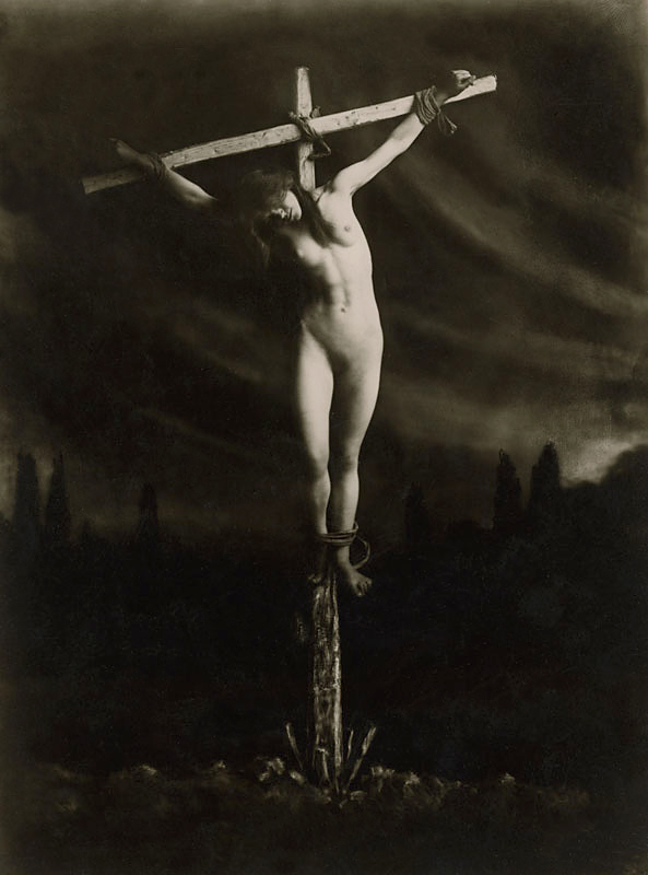 Frantisek Drtikol (1883-1961) 'Crucified' before 1914