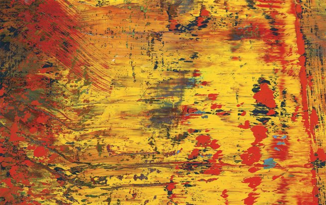 Gerhard Richter. 'Abstract Painting (613-3)' 1986 (detail)