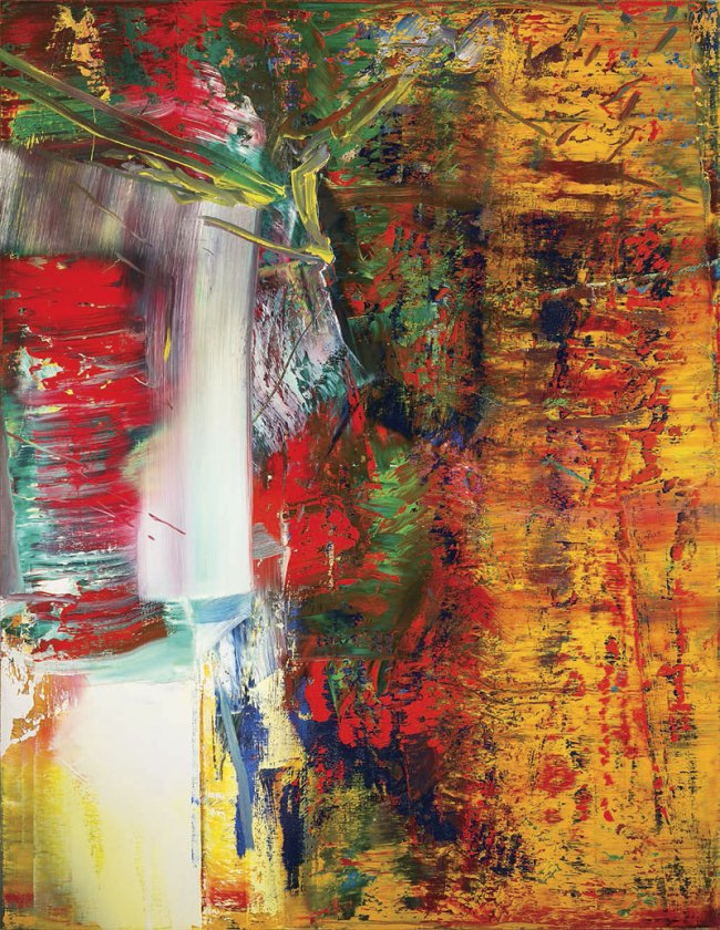Gerhard Richter. 'Abstract Painting (613-3) 1986
