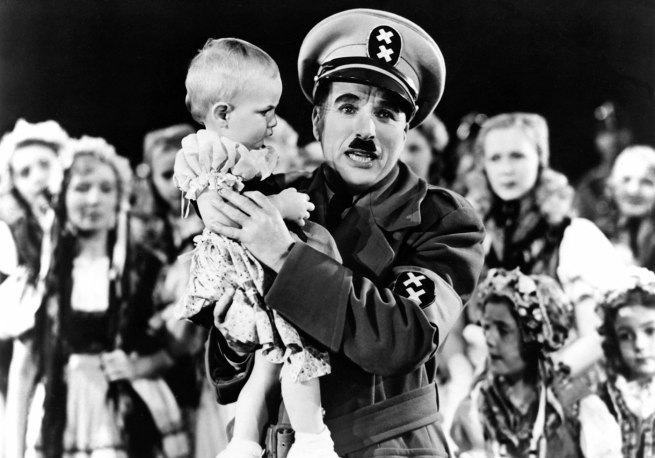 'The Great Dictator'. 1940. USA. Directed by Charles Chaplin.