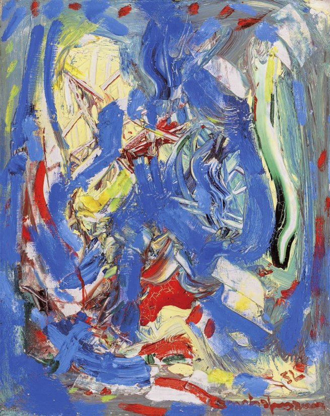 Hans Hofmann. 'Composition #3' 1952