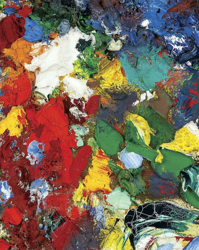 Hans Hofmann. 'Midday' 1956 (detail)