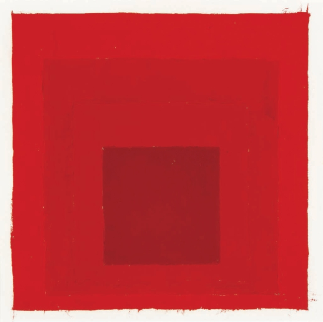Josef Albers. 'Study for Homage to the Square' 1964