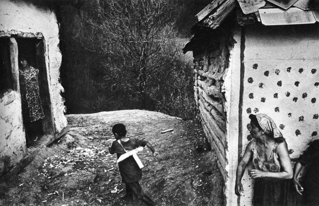 Josef Koudelka. Various images from the series 'Gypsies'