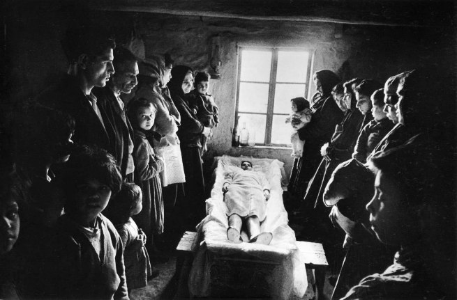Josef Koudelka. 'Jarabina, Czechoslovakia' 1963. Various images from the series 'Gypsies'