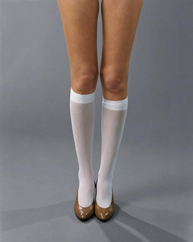 Josephine Meckseper (German, born 1964) 'Blow-Up (Michelli, Knee-Highs)' 2006