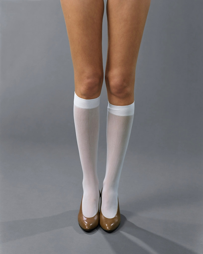 Josephine Meckseper (German, born 1964) 'Blow-Up (Michelli, Knee-Highs)' 2006