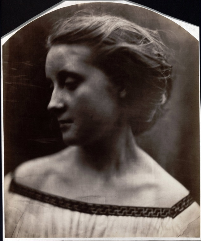 Julia Margaret Cameron (British, 1815-1879) 'Untitled (Mary Ryan?)' c. 1867