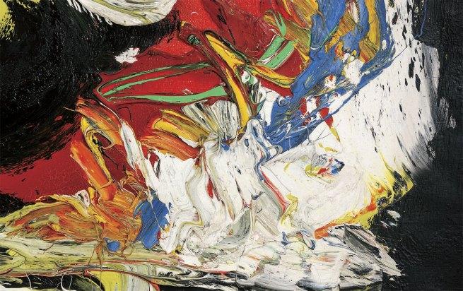 Karel Appel. 'Dans la Tempête' (detail) 1960