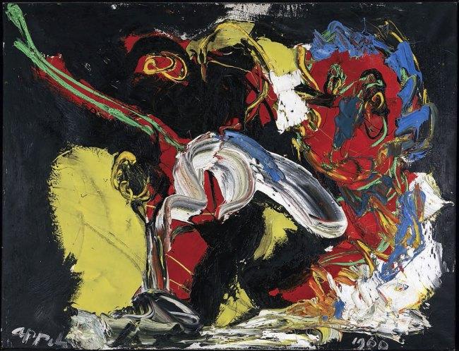 Karel Appel. 'Dans la Tempête' 1960