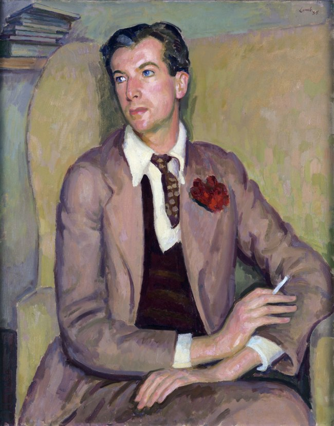 Henry Lamb. 'Portrait of Cecil Beaton' 1935