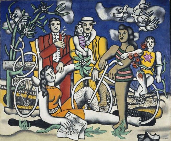 Fernand Léger. 'Les Loisirs - Hommage à Louis David' [Leisure - Homage to Louis David] 1948-1949