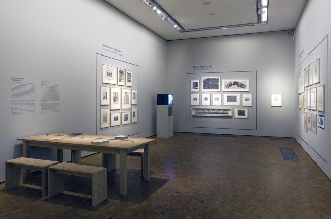 Installation view of the exhibition 'The Museum of Photography. A Revision' at Ludwig Museum of Contemporary Art, Budapest