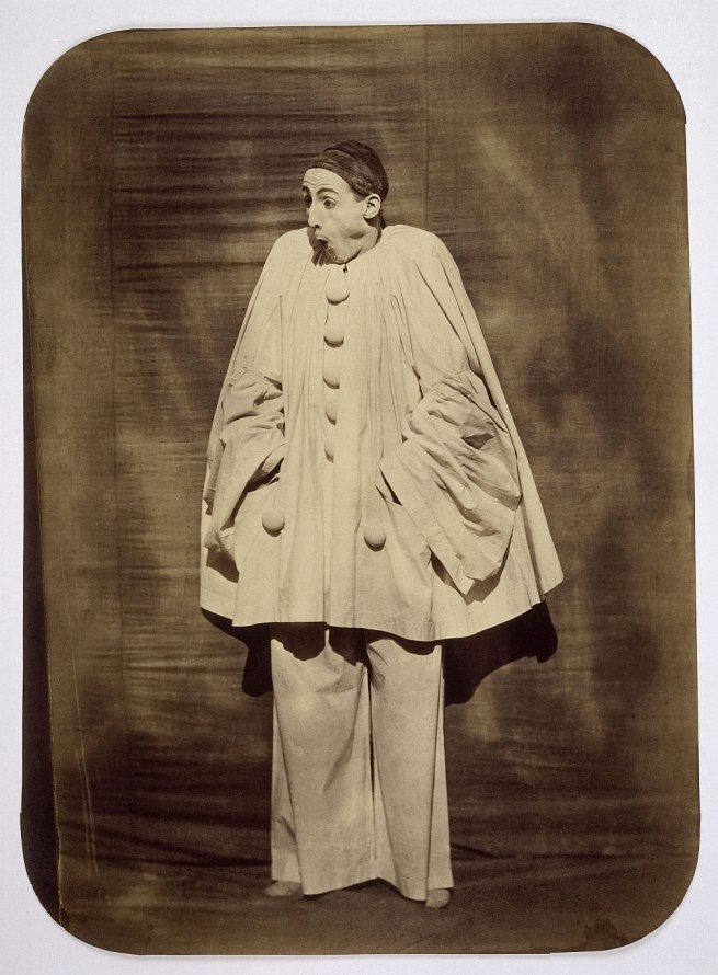 Nadar (Gaspard-Félix Tournachon) (French, 1820-1910) Adrien Tournachon (French, 1825-1903) 'Pierrot Surprised' 1854-55
