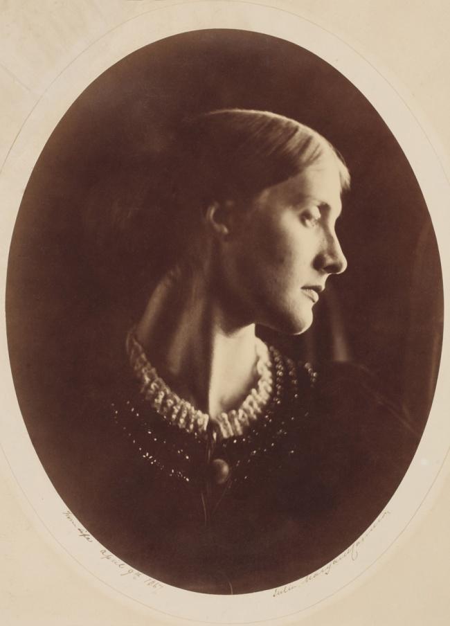 Julia Margaret Cameron (1815-1879) 'Mrs Herbert Duckworth' 1867