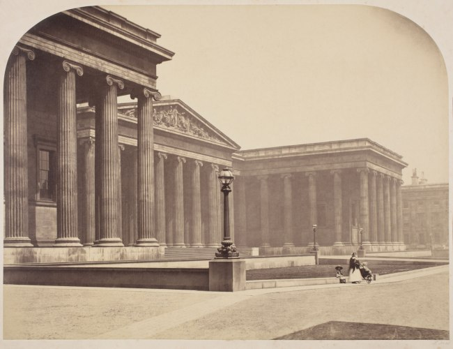 Roger Fenton (1819-1869) 'London: The British Museum' 1857