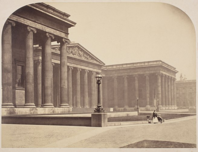 Roger Fenton (1819-1869) 'London: The British Museum' 1857