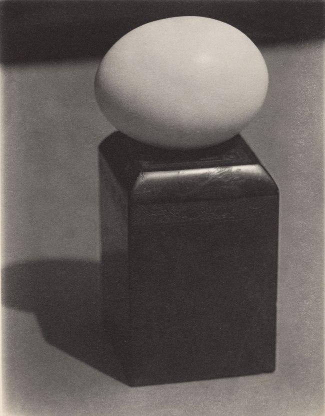 Paul Outerbridge (1896-1958) 'Egg on Block' 1923