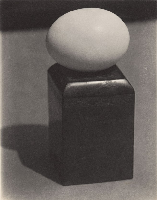 Paul Outerbridge (1896-1958) 'Egg on Block' 1923