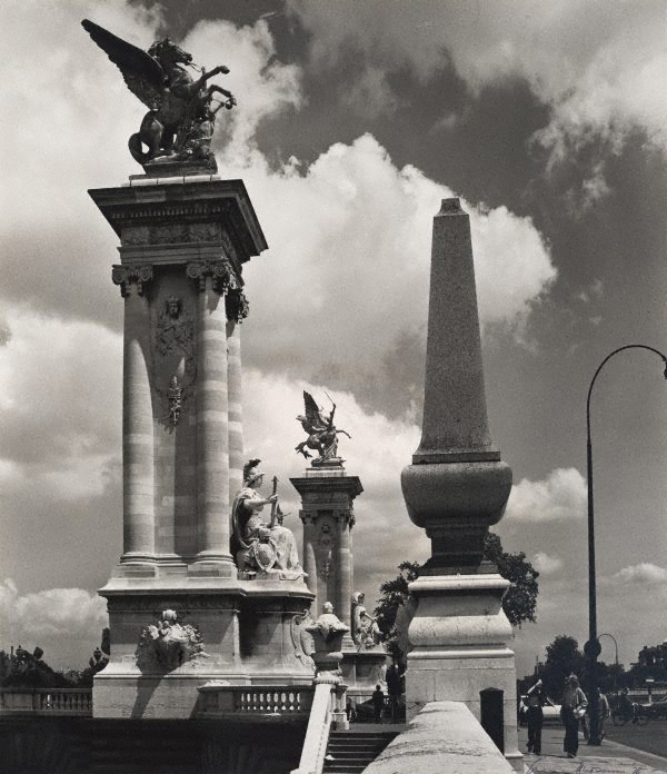 Max Dupain. 'Untitled (Pont Alexandre III with sculptural balustrade)' 1978