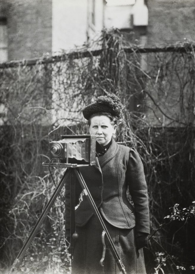 Anonymous. 'Portrait of photographer, Christina Broom' Nd