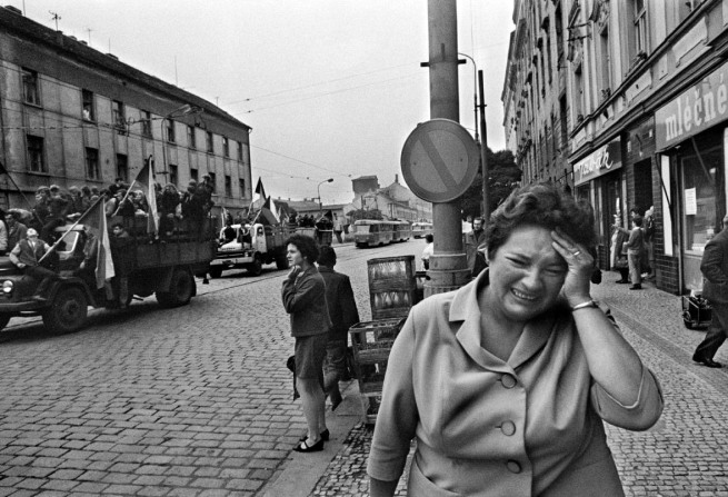 Josef Koudelka. 'Untitled' Various images from the series 'Invasion'