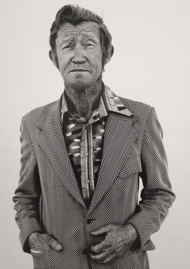 Richard Avedon (American, 1923-2004) 'Carl Hoefert, unemployed blackjack dealer, Reno, Nevada', from the series 'In the American West' August 30, 1983