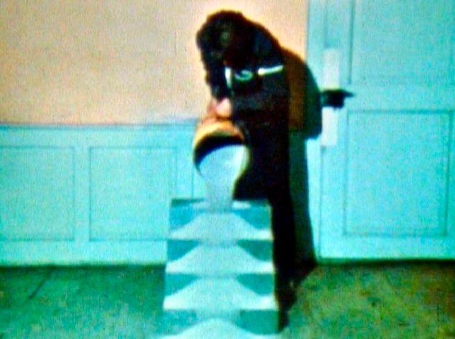 Roman Signer (Swiss, born 1938) 'Sand Stairs (Sandtreppe)' 1975