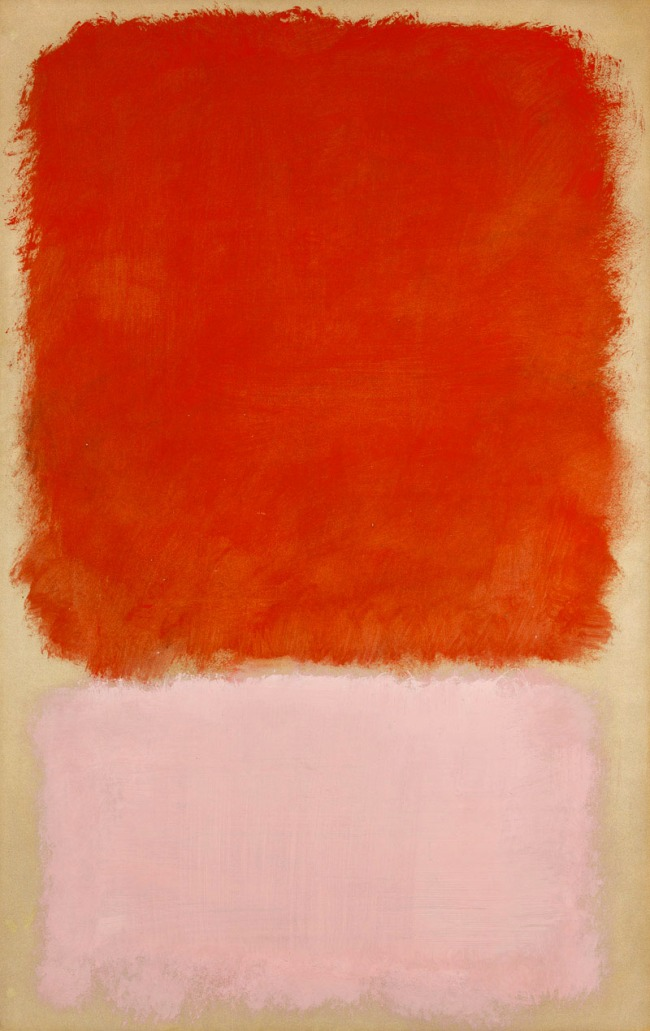 Mark Rothko. 'Untitled' 1968