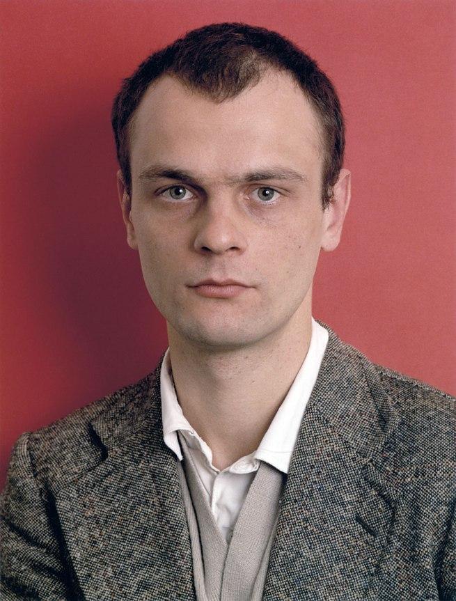 Thomas Ruff. 'Bernd Jünger, May 1985' 1985