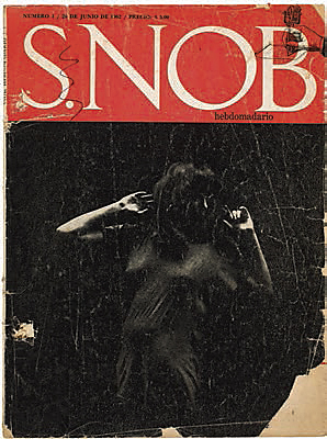 Cover of the magazine S.nob No. 2 (27 June 1962)