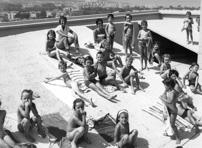 Louis Sciarli. 'Le Corbusier. Marseille: Unité d'habitation, École Maternelle' [Le Corbusier. Marseille: housing unit, Kindergarten] 1945/2014