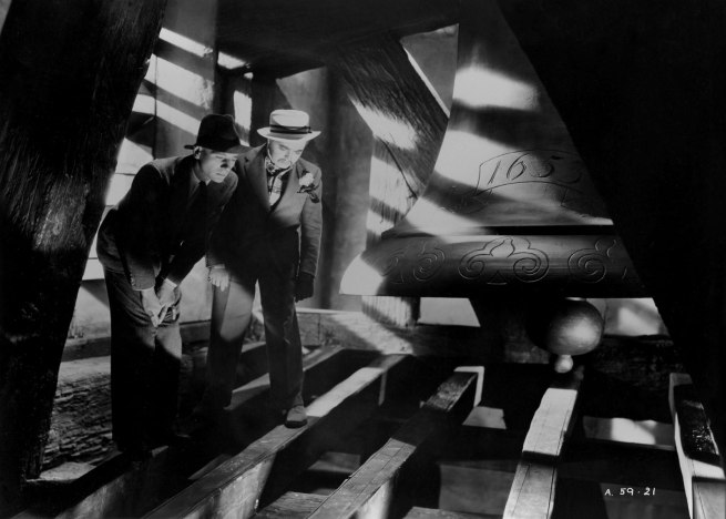 'The Secret Agent'. 1936. Great Britain. Directed by Alfred Hitchcock.