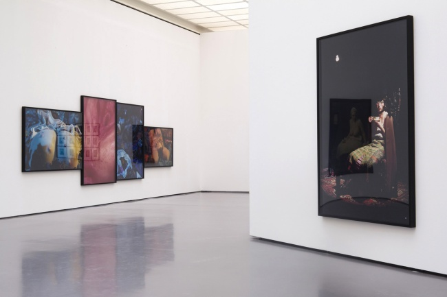 Installation view of 'Cindy Sherman - Untitled Horrors' at Kunsthaus Zürich