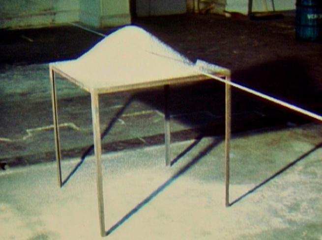 Roman Signer (Swiss, born 1938) 'Sand Cone (Sandkegel)' 1984