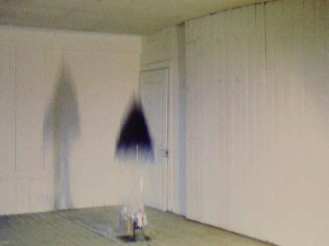 Roman Signer (Swiss, born 1938) 'Umbrella (Schirm)' 1989