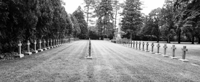 Josef Koudelka. 'St. Procopius Abbey graveyard, Lisle' Nd