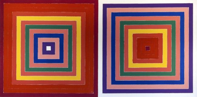 Frank Stella. 'Double Scramble' 1978