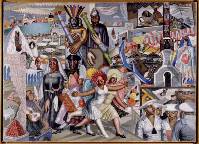Maruja Mallo (Ana María Gómez González) 'The Fair' 1927