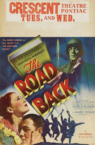 'The Road Back' theatrical poster