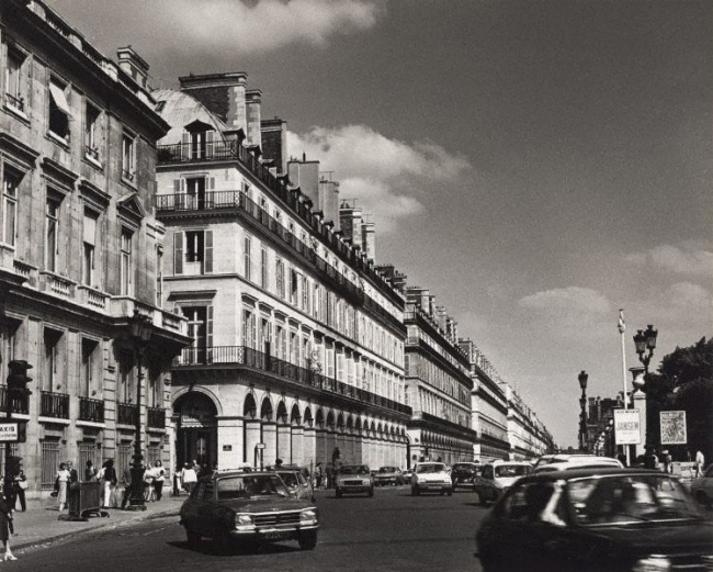 Max Dupain. 'Untitled (cars on rue de Rivoli)' from The Paris 'private' series Year 1978